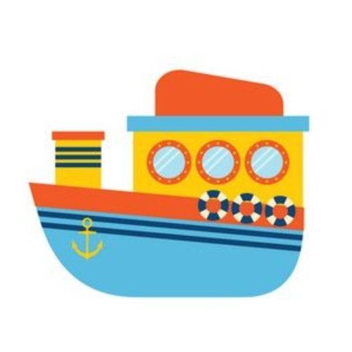 óvodai törölközőre hajó jel