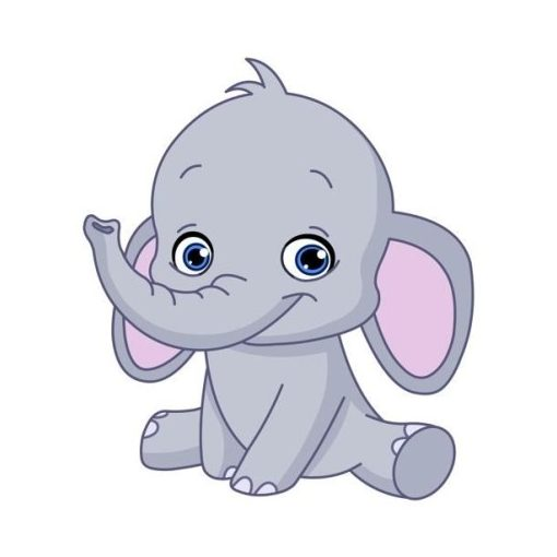 óvodai törölközőre elefánt jel