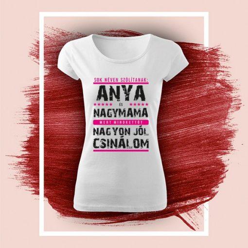 """Póló """"Anya"""" 006_A"""